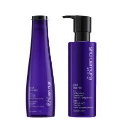 Duo Shu Uemura Yubi Blonde Shampooing Révélateur + Soin