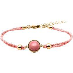 Bracelet Coton Cabochon Rhodonite - LABISE