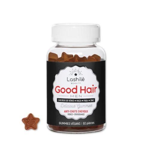 Gummies Vegan Good Hair Men Anti Chute Lashilé x60