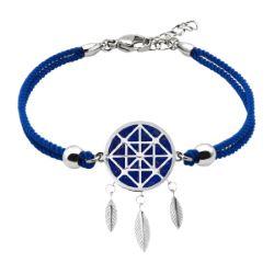 Bracelet Coton Attrape-Rêves Lapis Lazuli - LABISE
