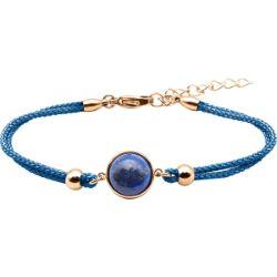 Bracelet Coton Cabochon Lapis Lazuli - LABISE