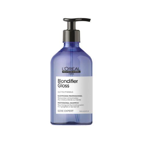Blondifier Gloss Shampoing Illuminateur Cheveux Blonds L'Oréal 500ml