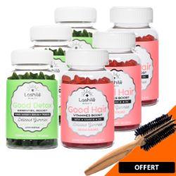 Gummies Vegan Pack Hair Detox 3 Mois