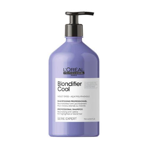 Blondifier Shampoing Neutralisant Cheveux Blonds L'Oréal 750ml