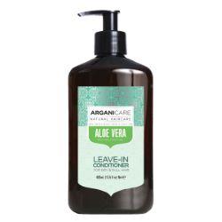 Crème De Soin Sans Rinçage Hydratante Aloe Vera 400ml Arganicare
