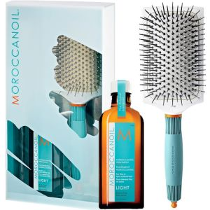 Coffret Soin Cheveux Fins ou Clairs Morocanoil