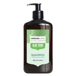 Shampooing Revitalisant Aloe Vera 400ml Arganicare