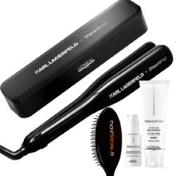 Pack Steampod 3.0 Edition Karl Lagerfeld - Cheveux Fins + Trousse