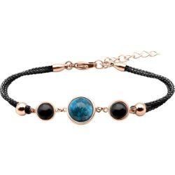 Bracelet Alliance Cabochon Apatite Onyx - LABISE
