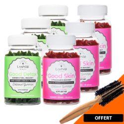 Gummies Vegan Pack Skin Detox 3 Mois