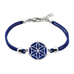 Bracelet Coton Fleur de Vie Lapis Lazuli - LABISE