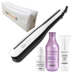 Pack Steampod 3.0 Cheveux épais + Shamp Liss Unlimited 300ml +Trousse