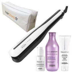 Pack Steampod 3.0 Cheveux épais + Shamp Liss Unlimited 300ml +Trousse