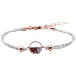 Bracelet Demi-Lune Aghate Crazy Lace - LABISE