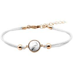 Bracelet Coton Cabochon Howlite - LABISE