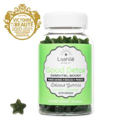 Gummies Vegan Good Detox Essentiel Boost Lashilé x60