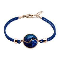 Bracelet Coton Yin Yang Lapis & Sodalite - LABISE