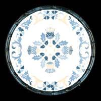 Kleine Diner Bord in pure melamine - 23 cm - Lissabon