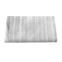 Telo / plaid grise Versailles (140 x 140 cm)