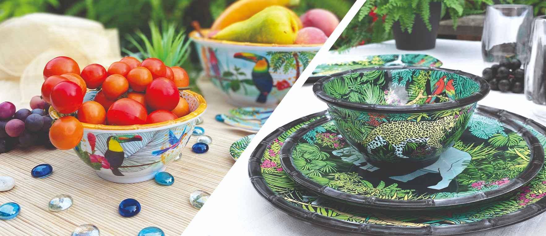 Notre gamme de bol en mélamine incassable et coloré
