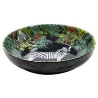 Gran plato honda de sopa - Melamina pura - 20 cm - Jungle
