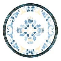 Small Dessert Plate - 100% melamine - 23 cm - Lisbon