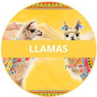Llamas Theme Melamine tableware