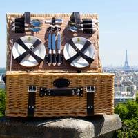Cesta picnic 6 personas Louvre