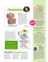 """Our """"Cheverny"""" picnic basket in Living France magazine"""