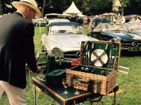 Picknick voor old timers in Chantilly ( september 2015)