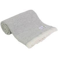 Manta ligera de cachemir y lana : gris - 130 x 230 cm