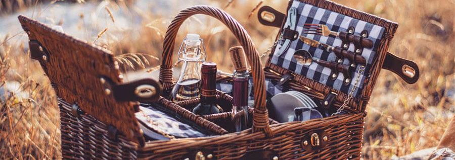 Our picnic basket saint-germain for 4 on the sea