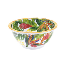 Small bowl - 100% melamine - 15 cm - Exotic Flowers