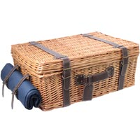 Blue Prestige Champs-Elysées Picnic Hamper for 4 people