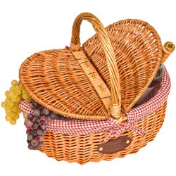 "Wicker basket ""Campagne"