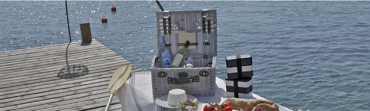 Picknickkorb für 4 Personen Castelnaud