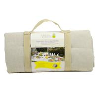 Beige picknickkleed (280 x 140 cm)