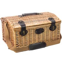 4 people wicker picnic basket 'Gisors'