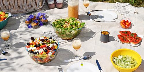 Impermeables manteles picnic by les jardins de la comtesse