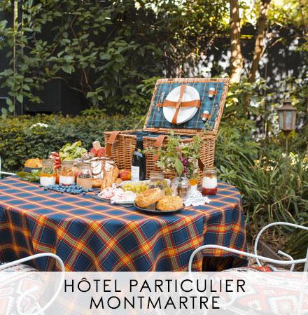 Panier Trianon Ecossais - Hôtel Particulier Montmartre
