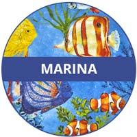 stoviglie in melamina raccolta marina