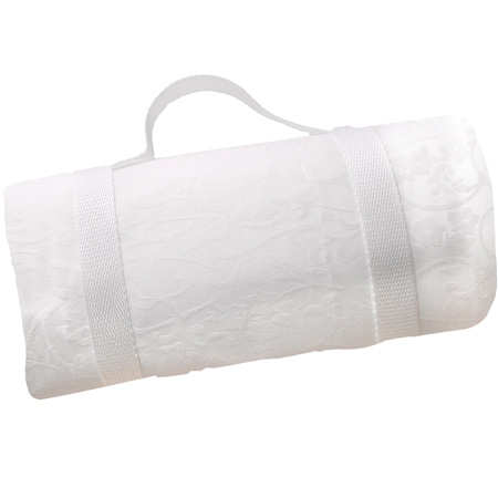 Waterproof picnic blanket white XXL (280 x 140 cm)