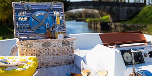 Cestas picnic by les jardins de la comtesse