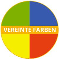 Melamin-Geschirrthema Uni-Farben