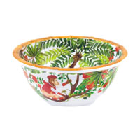 Small bowl - 100% melamine - 15 cm - Bali's Monkeys