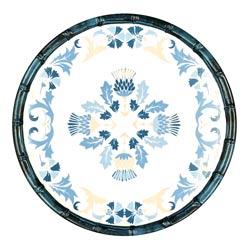 Petite Assiette Plate en mélamine pure - 23 cm - Lisbonne