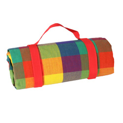 Mantel picnic impermeable Multicolor (140 x 140 cm)