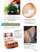 """Onze """"Gisors"""" picknickmand in Leven in Frankrijk tijdschrift"""