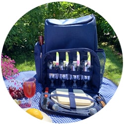 Picnic backpacks and accessories