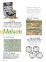 """Onze """"Castelnaud"""" picknickmand in Frankreich tijdschrift"""